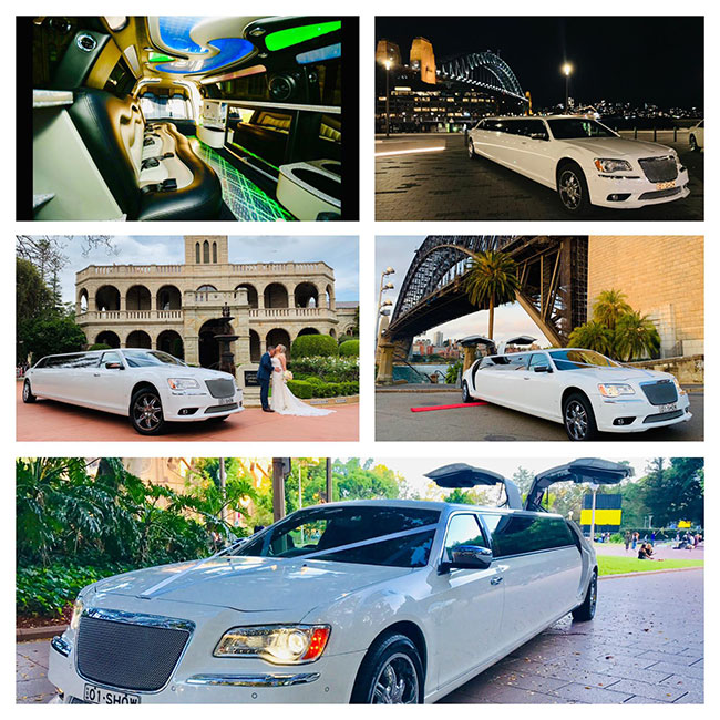 Chrysler 300 Super Stretch Limousine – With Double Gullwing Doors